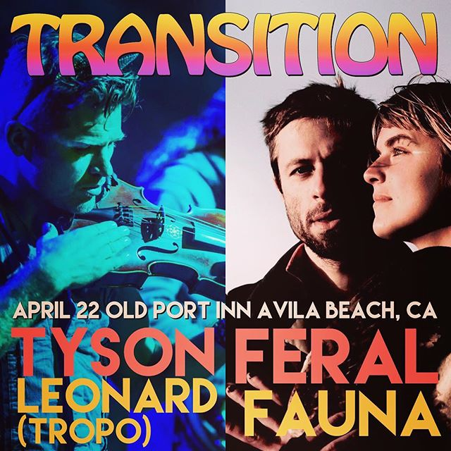 So excited for a feral fauna reunion tour, kicking it off with out bro @tropomusik in Avila beach this Saturday!!!! https://www.residentadvisor.net/event.aspx?927905