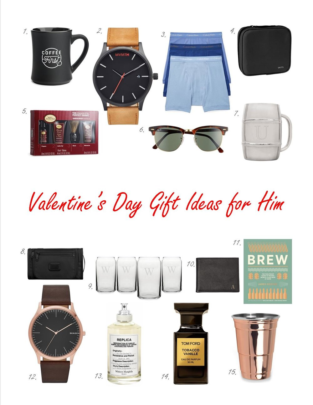 Valentine\'s Day Gift Ideas for Him