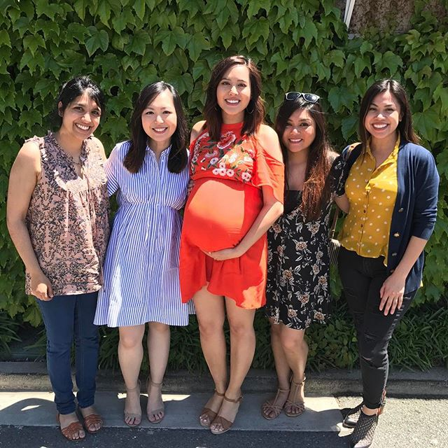 Beautiful day for a Baby Sprinkle with my nearest and dearest. Thank you for today. So glad the stars aligned so we could all get together ❤️❤️❤️ #36weeks