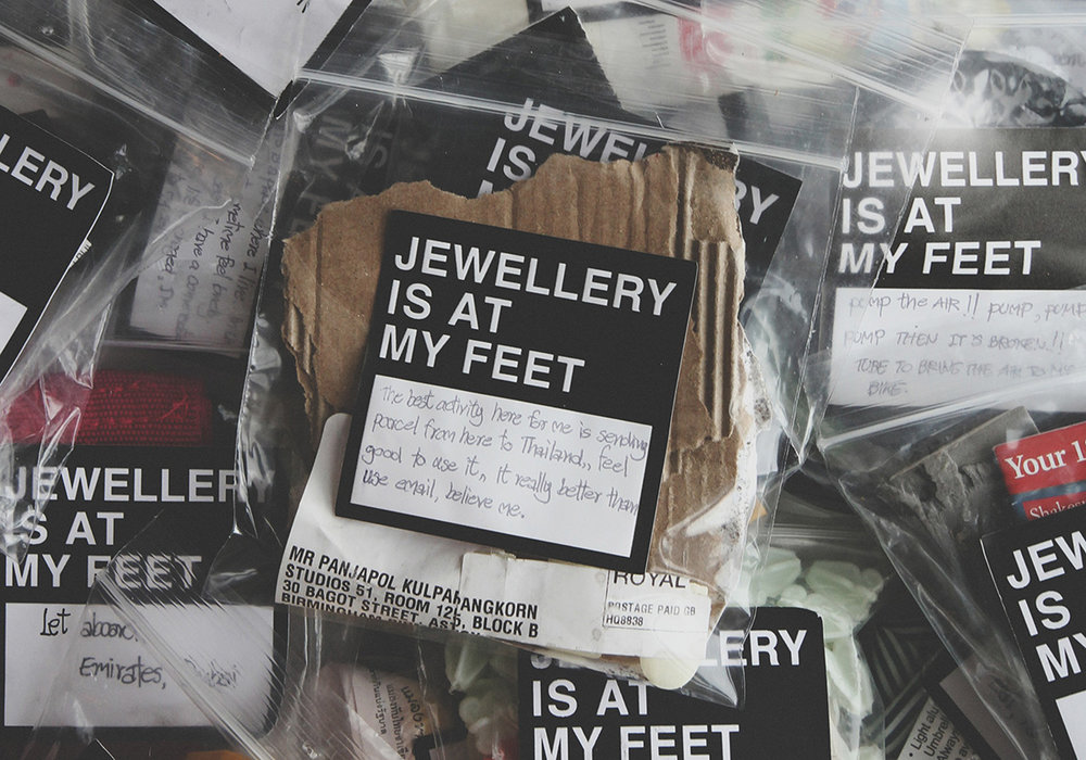 Jewellery is at my feet : The show is yours  | 2012 - present