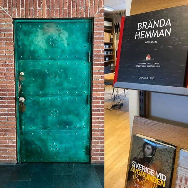 Många intryck på krigsarkivet. Vad finns bakom dörren?  #brändahemman #krig #bok #1719