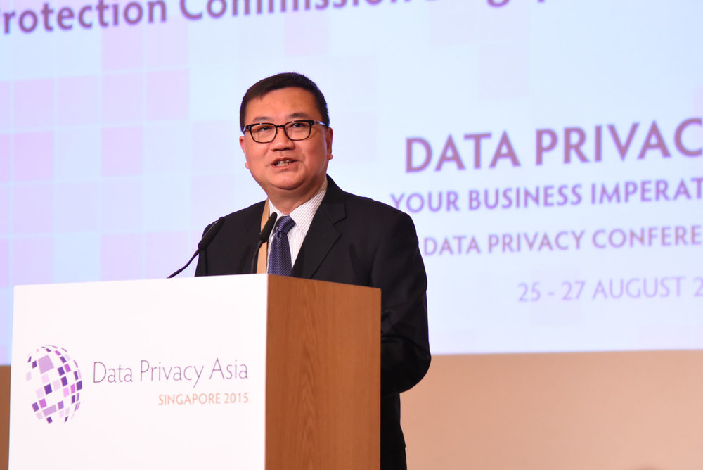 Mr. Leong Keng Thai, Guest of Honour and Chairman, Personal Data Protection Commission (PDPC) of Singapore