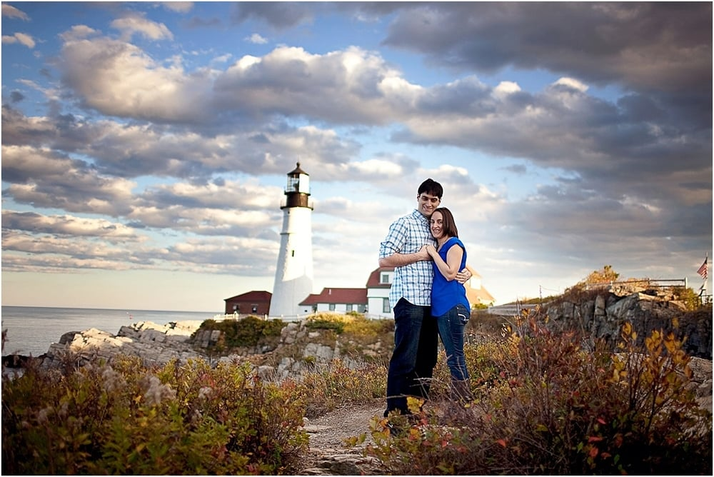 Maine Engagement Photography