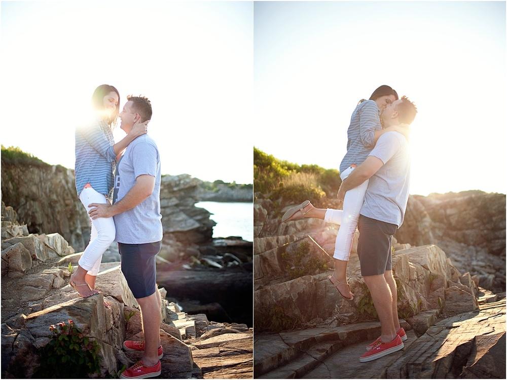 Maine Engagement Photography