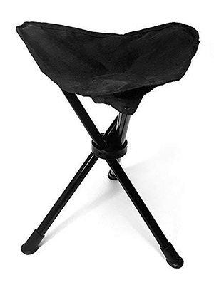 A collapsible stool to sit on whilst waiting for the aurora/sunset/clouds/kingfisher. (£15)
