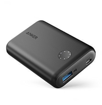 Anker portable, small power unit. (£27)