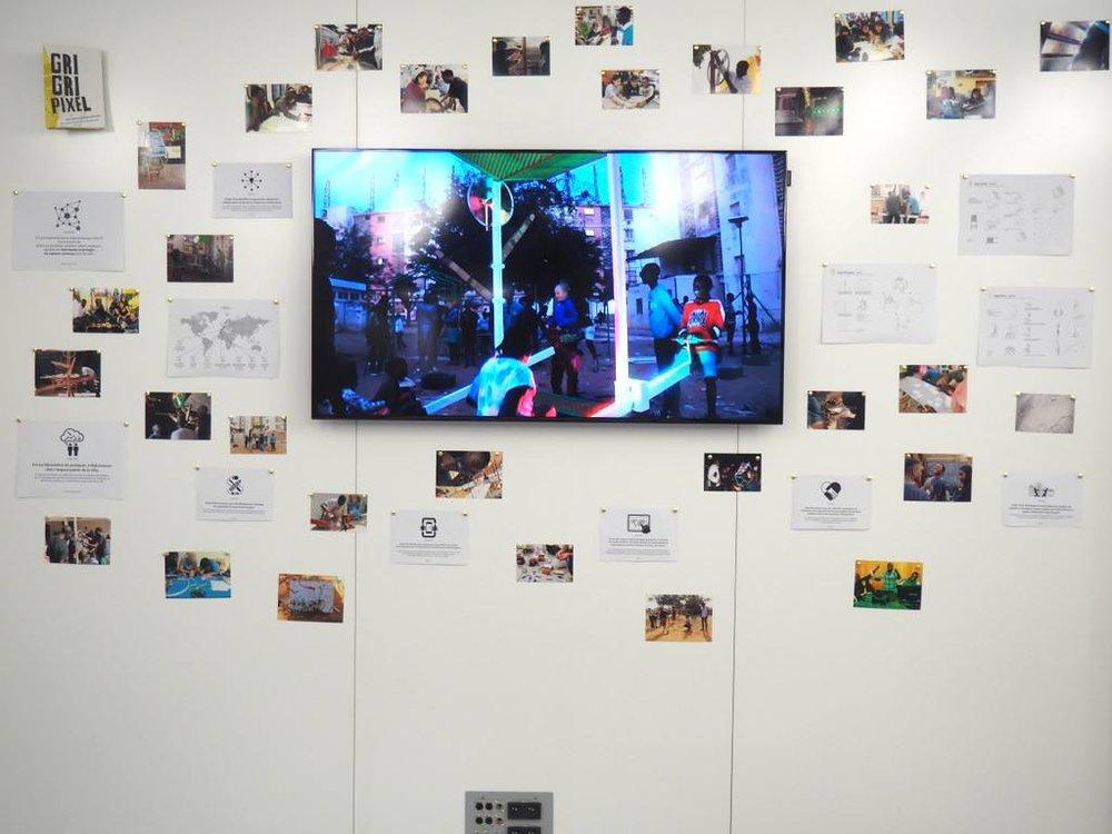Aquí compartimos algunas fotos de la primera semana de residencia de Susana Moliner en el Maif Social Club de Paris.