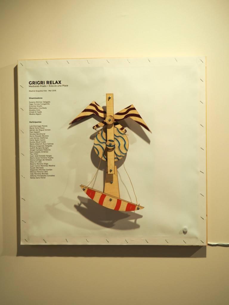 Y el modelo amuleto interactivo que hicimos con Yago Torroja para aportar mucho kalakala a Susana en París!!! :-)