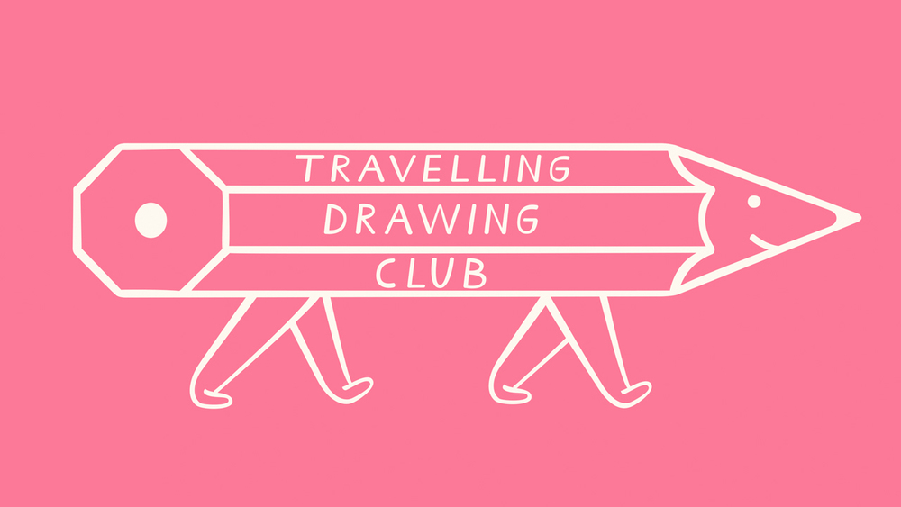 We love drawing and wanted to dedicate 2 hours just for the pleasure of drawing something, to be with friends. to discuss and to observe while travelling with work. A great way to also meet new people on our journeys was to start a drawing club.