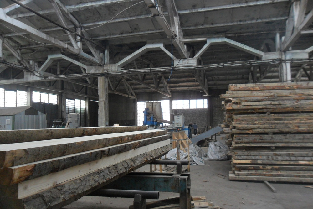 our pallet wood sawmill in Lviv, West of Ukraine