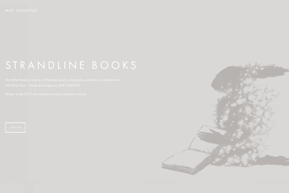 Strandline Books website design 01 Jo Hounsome Photography.jpg