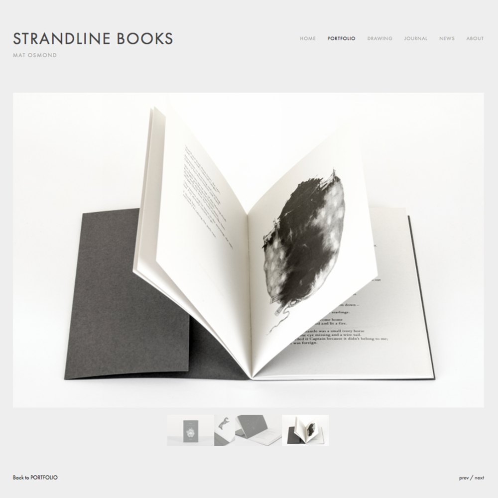 Strandline Books website design 02 Jo Hounsome Photography.jpg