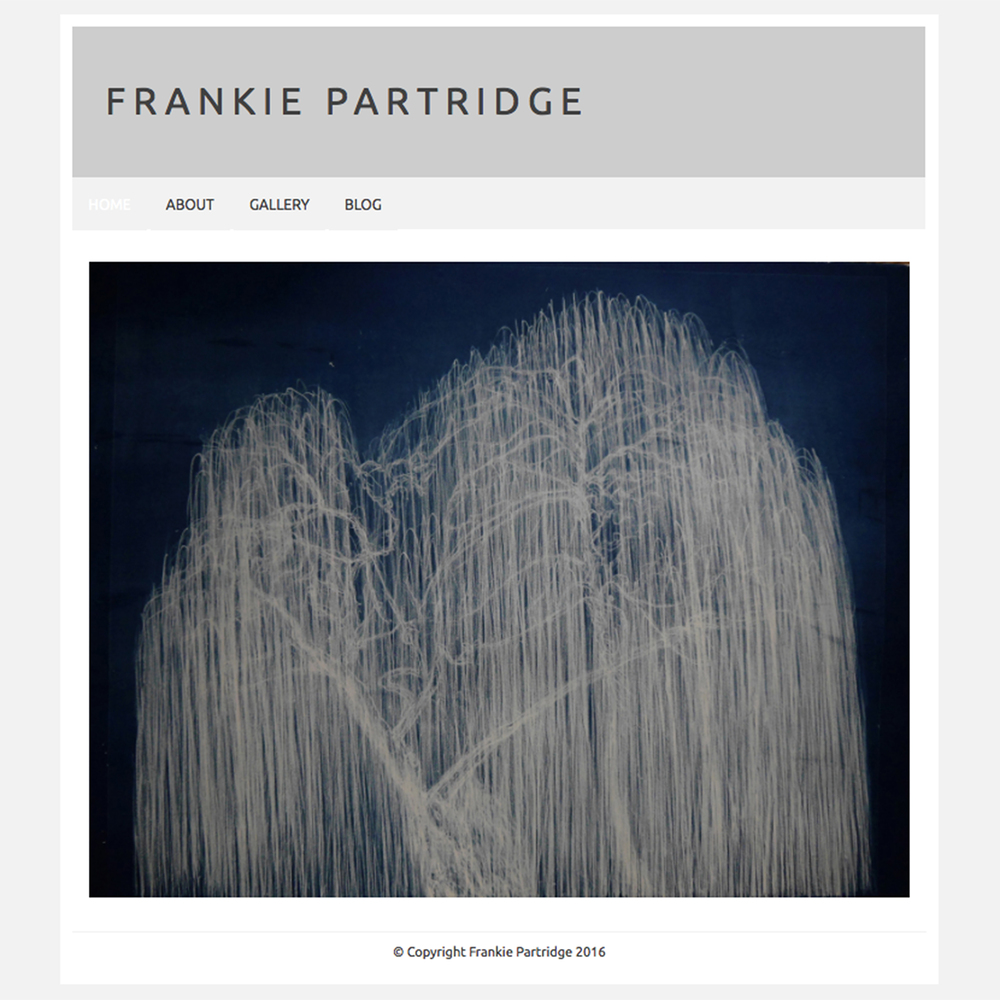Frankie Partridge website design 01 Jo Hounsome Photography.jpg