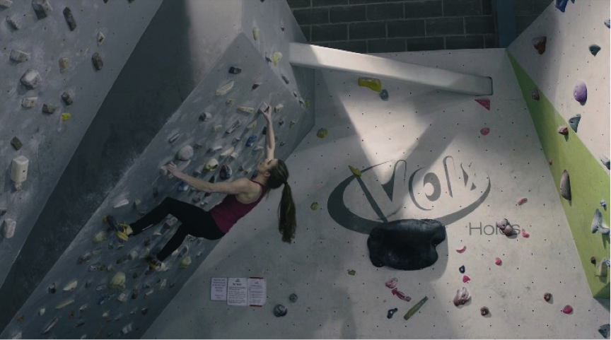 Hannah Slaney, 2016 (Bouldering at Bloc Climbing centre)