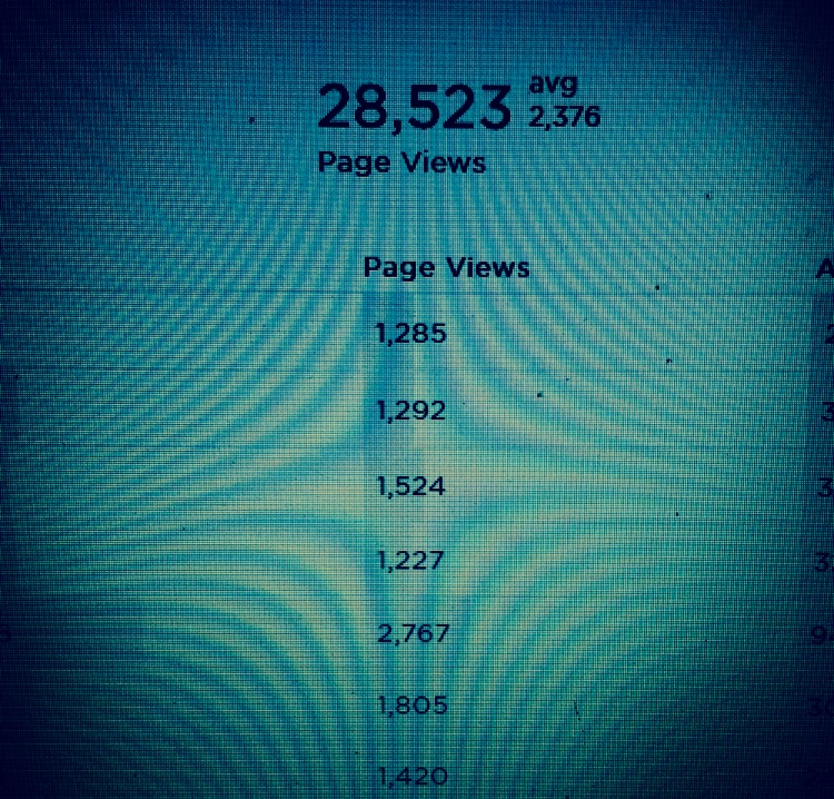 Exactly a year on and Gladrags has had over 28 and a half THOUSAND page views! I couldn't be more thankful and grateful or proud of myself. I get to do something I absolutely love and help people along the way, plus it's opened doors to people I would never have met and lead to a job.