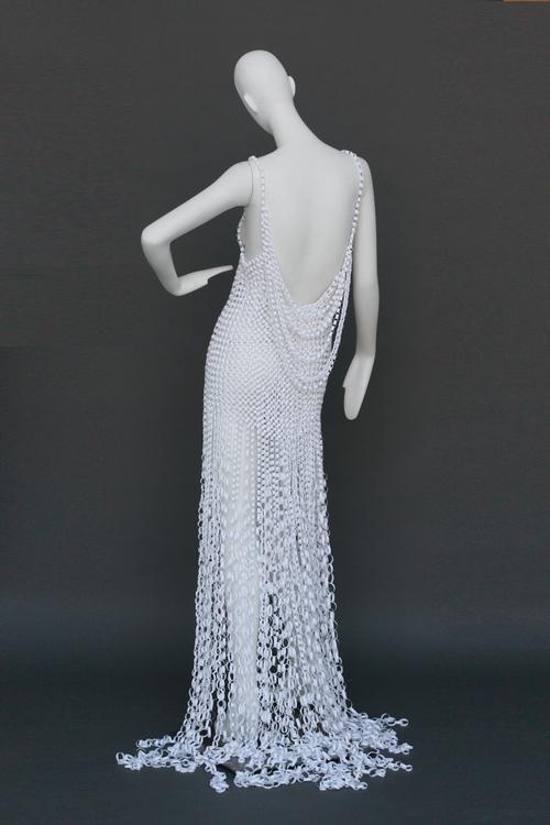 Paper Gown — KentCurtis Design Studio