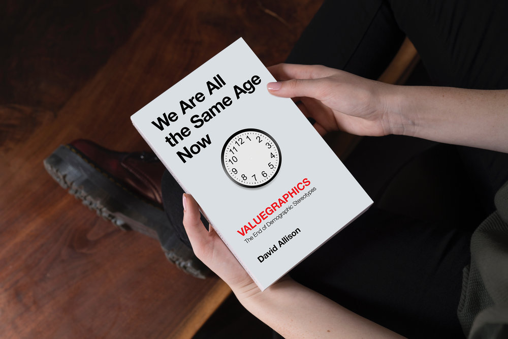 How to pre-register for We Are All the Same Age Now, by David Allison.