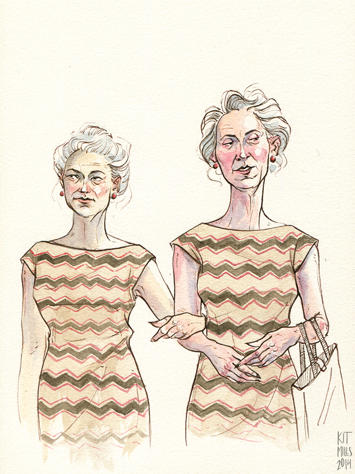 Zig-zag twins,  on the Art of Style for Untapped Cities .