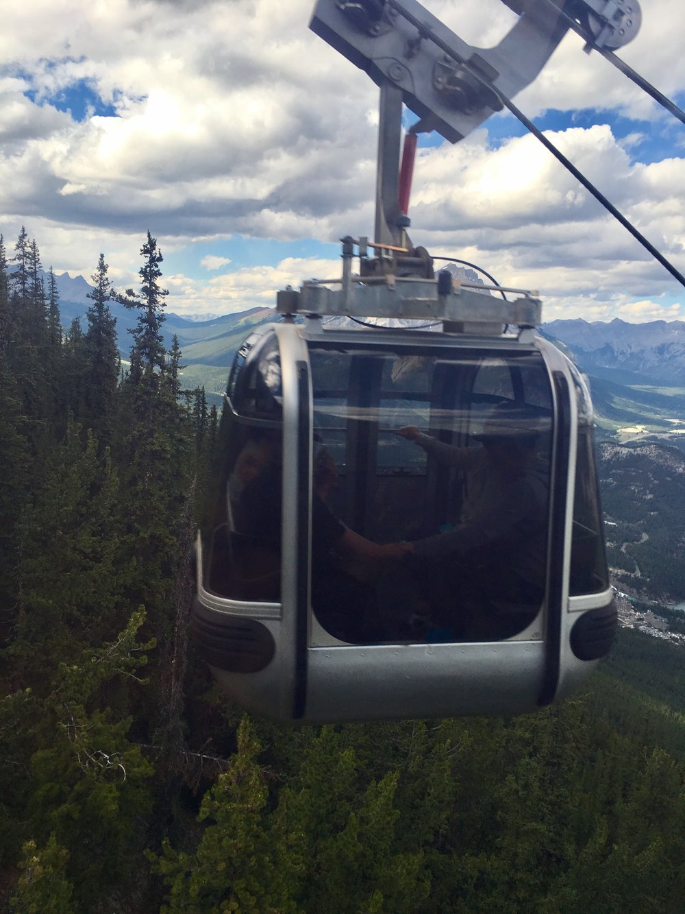 BANFF'S GONDOLA RIDE UP THE SULPHUR MOUNTAIN