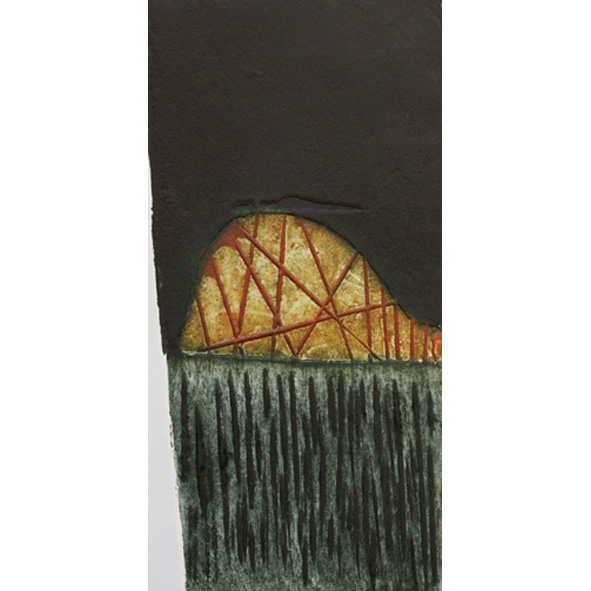 The Bridge Collagraph Unframed £80