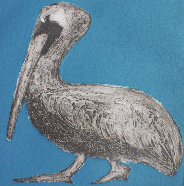 Pelican Collagraph Unframed £95