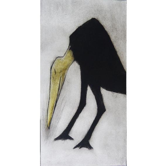 Stork Drypoint Unframed £55
