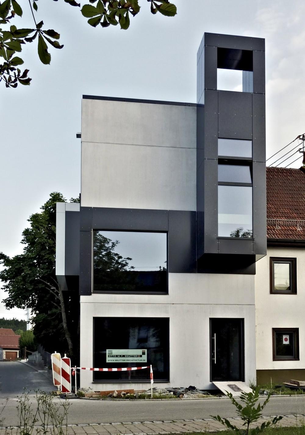 Ausrufezeichen für das Neue, Foto: O.M.F. Beutter Architekten