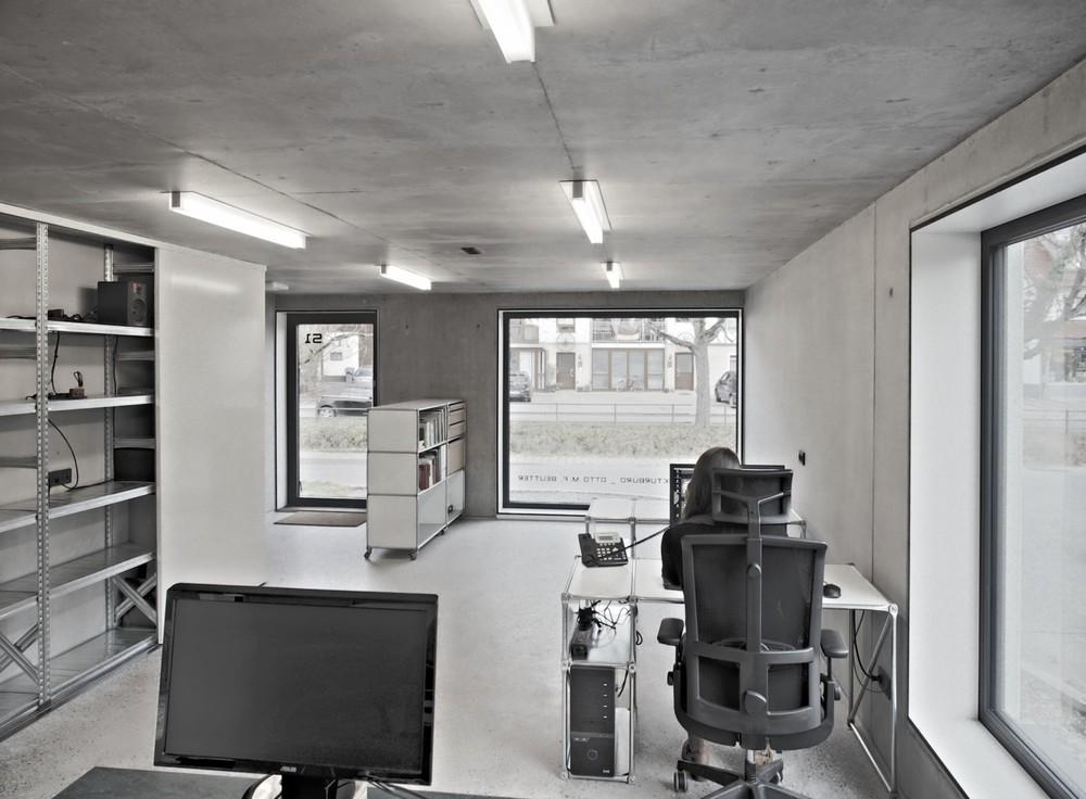 Sichtbeton im Interieur, Foto: O.M.F. Beutter Architekten