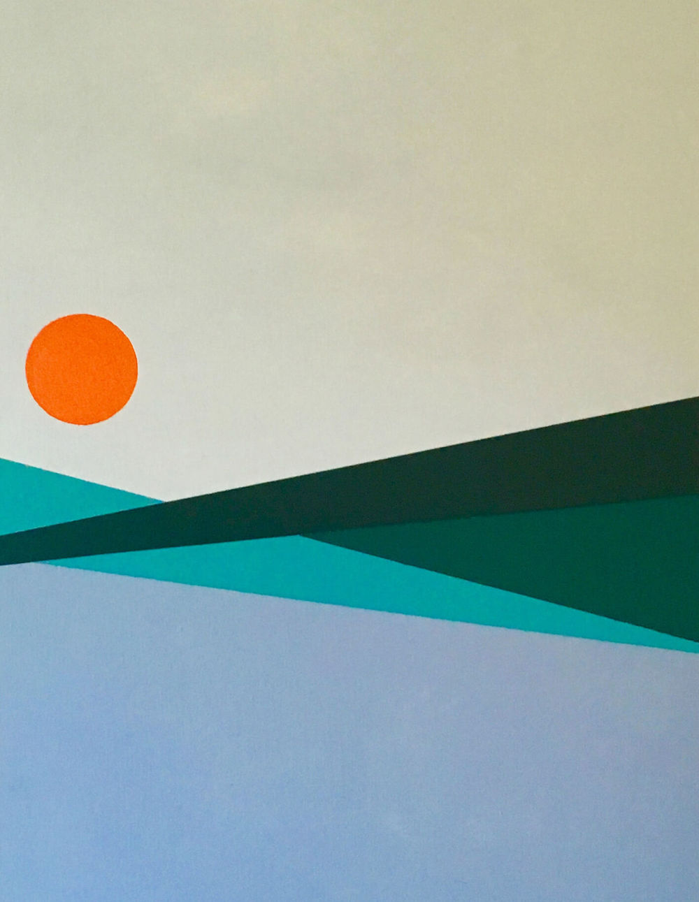 Minimal 3, 70 cm x 50 x 4 cm, Acryl auf Leinwand, 2016, 600,- Euro.