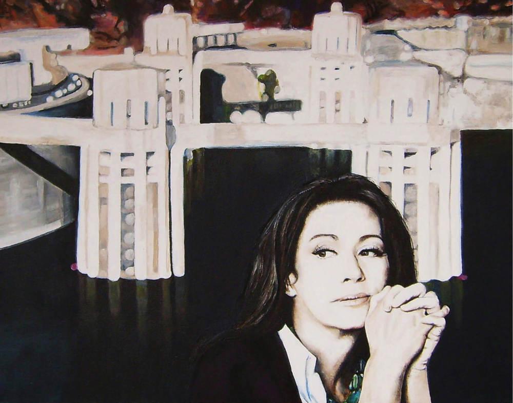 Highnoon, 50x60x4 cm, Malerei, © Ute Latzke, Preis: 1100 Euro.