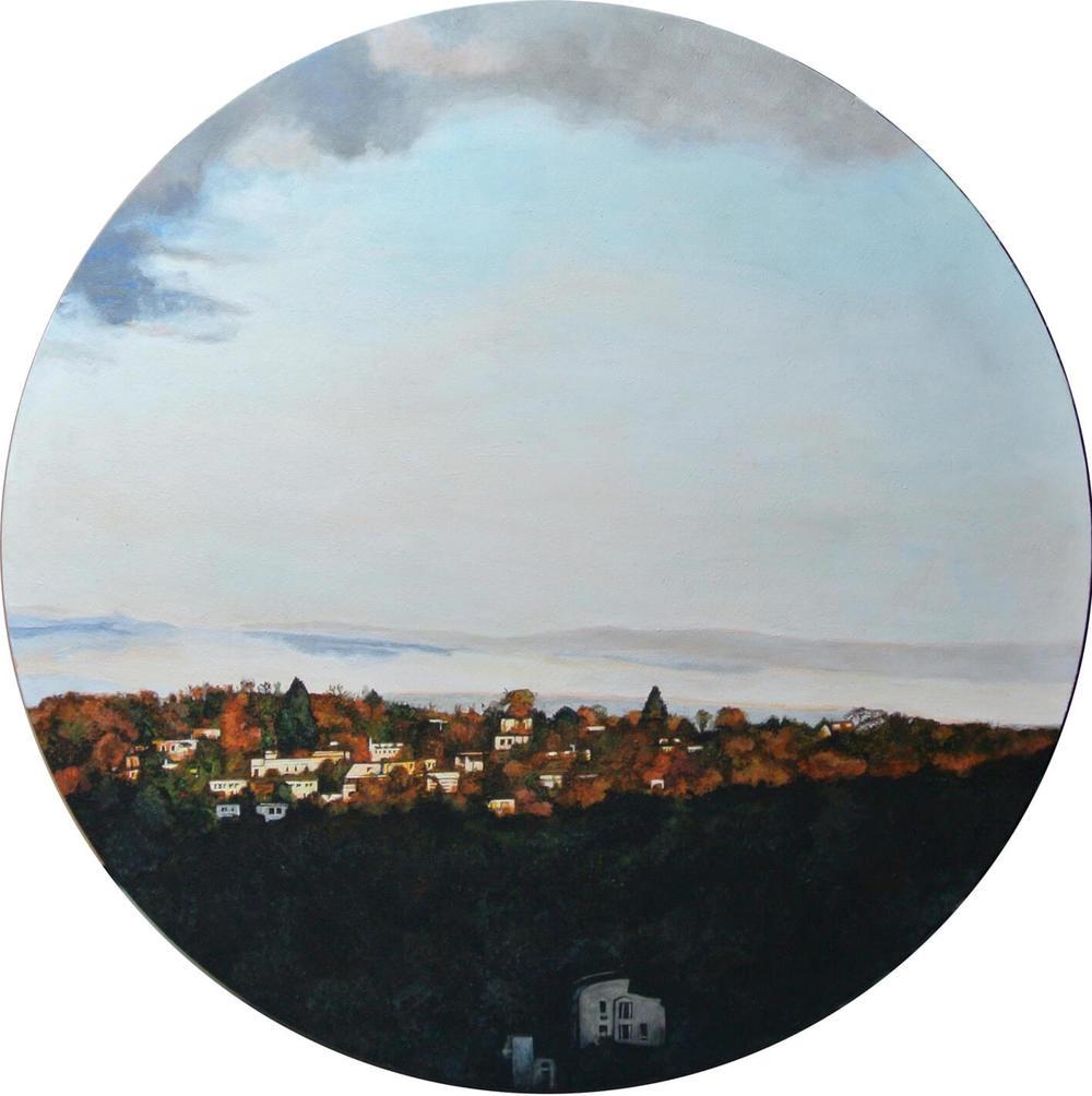 Falkenberg 1, Wuppertal – Focus on Landscape, Durchm. 60 cm, 2014, © Latzke, 950 Euro.