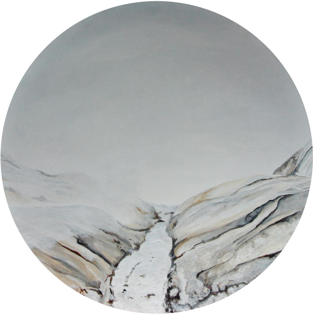 The Nudes – Focus on Landscape, Durchm. 50 cm, 2014, © Latzke, 450 Euro.