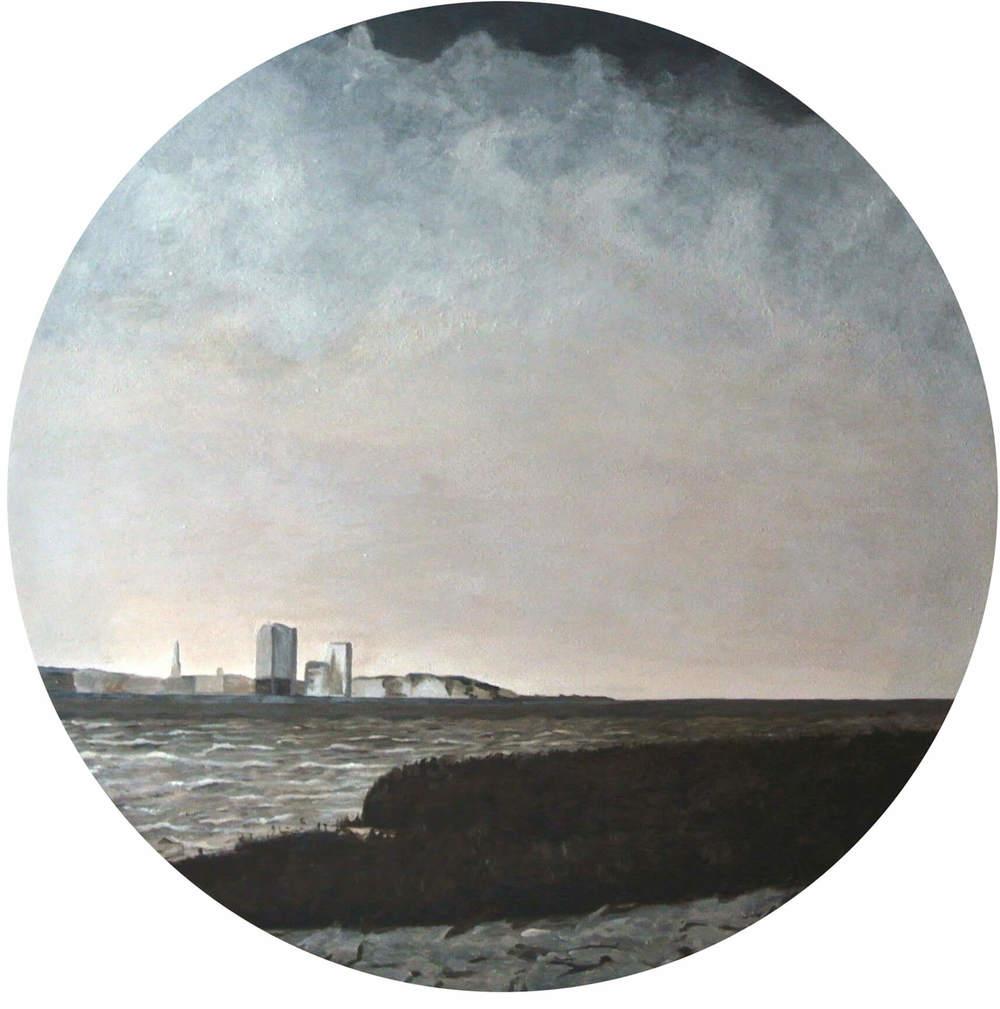 The Nudes 3 – Focus on Landscape, Durchm. 50 cm, 2014, © Latzke, 450 Euro.