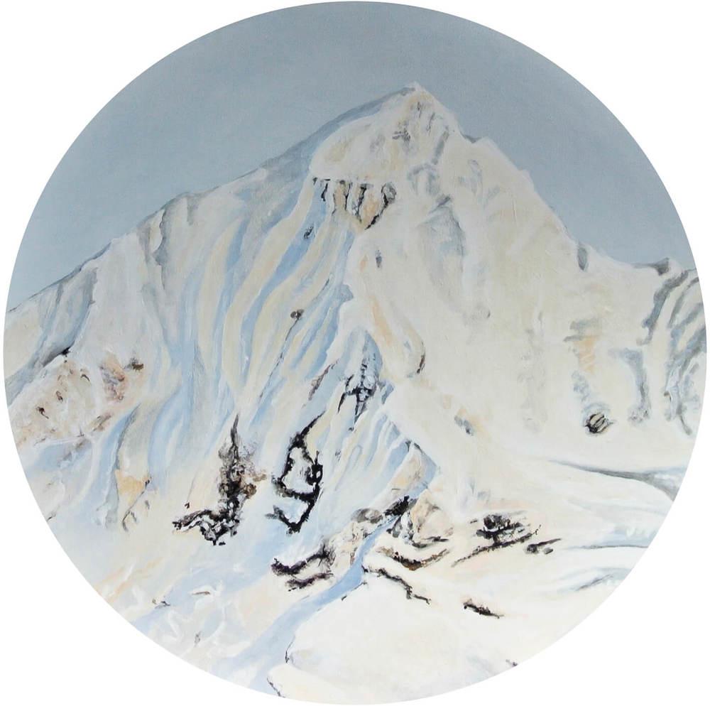 The Nudes 2 – Focus on Landscape, Durchm. 50 cm, 2014, © Latzke, 450 Euro.