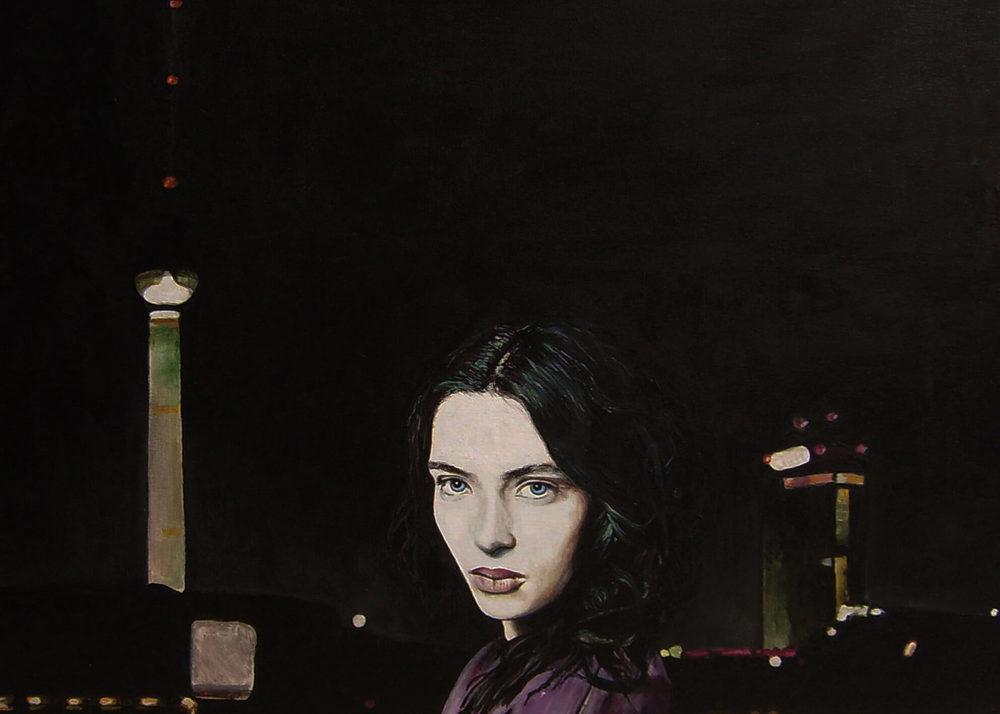 Sleepless, Malerei, 50x60x4 cm, Ute Latzke, Preis: 1100 Euro.