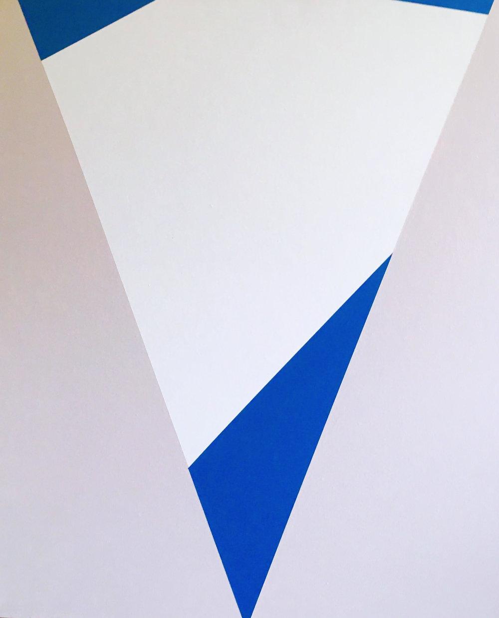 Minimal 18, 60 cm x 50 x 4 cm, Acryl auf Leinwand, © Ute Latzke, 2016, Preis: 300 Euro.