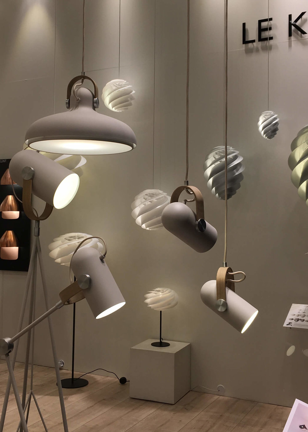 Le Klint, Leuchten, Dänisches Lampendesign