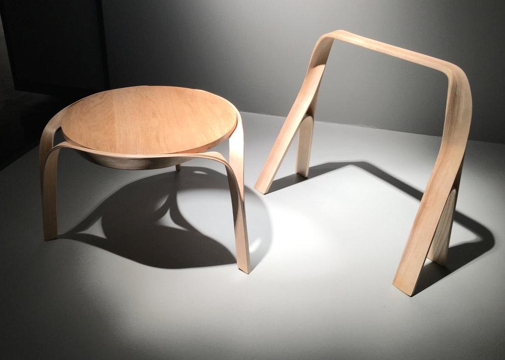 Möbel aus Bugholz von Bar Gantz.