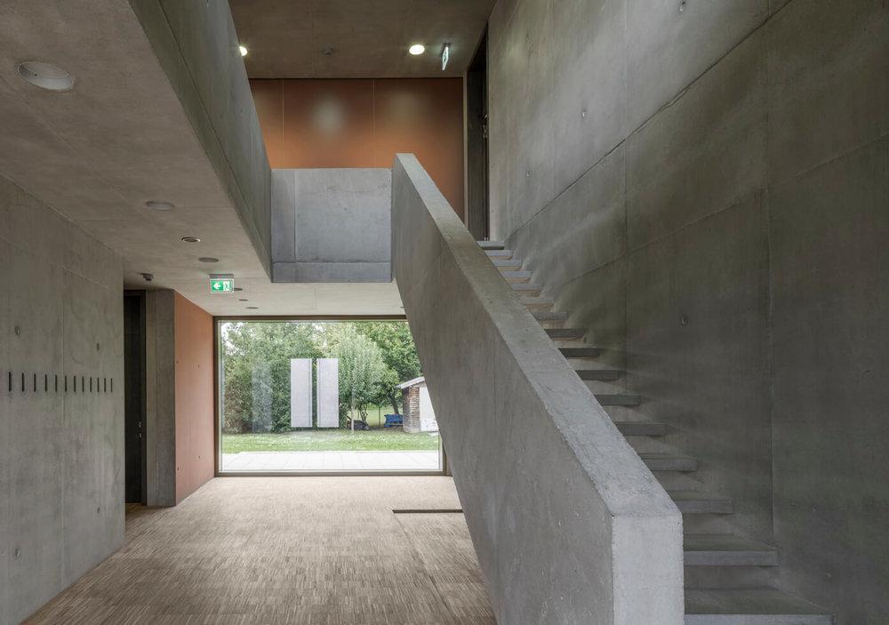 Foyer des Pfarrzentrums Herz Jesu, Bodensteiner-fest, Foto: F. Holzherr
