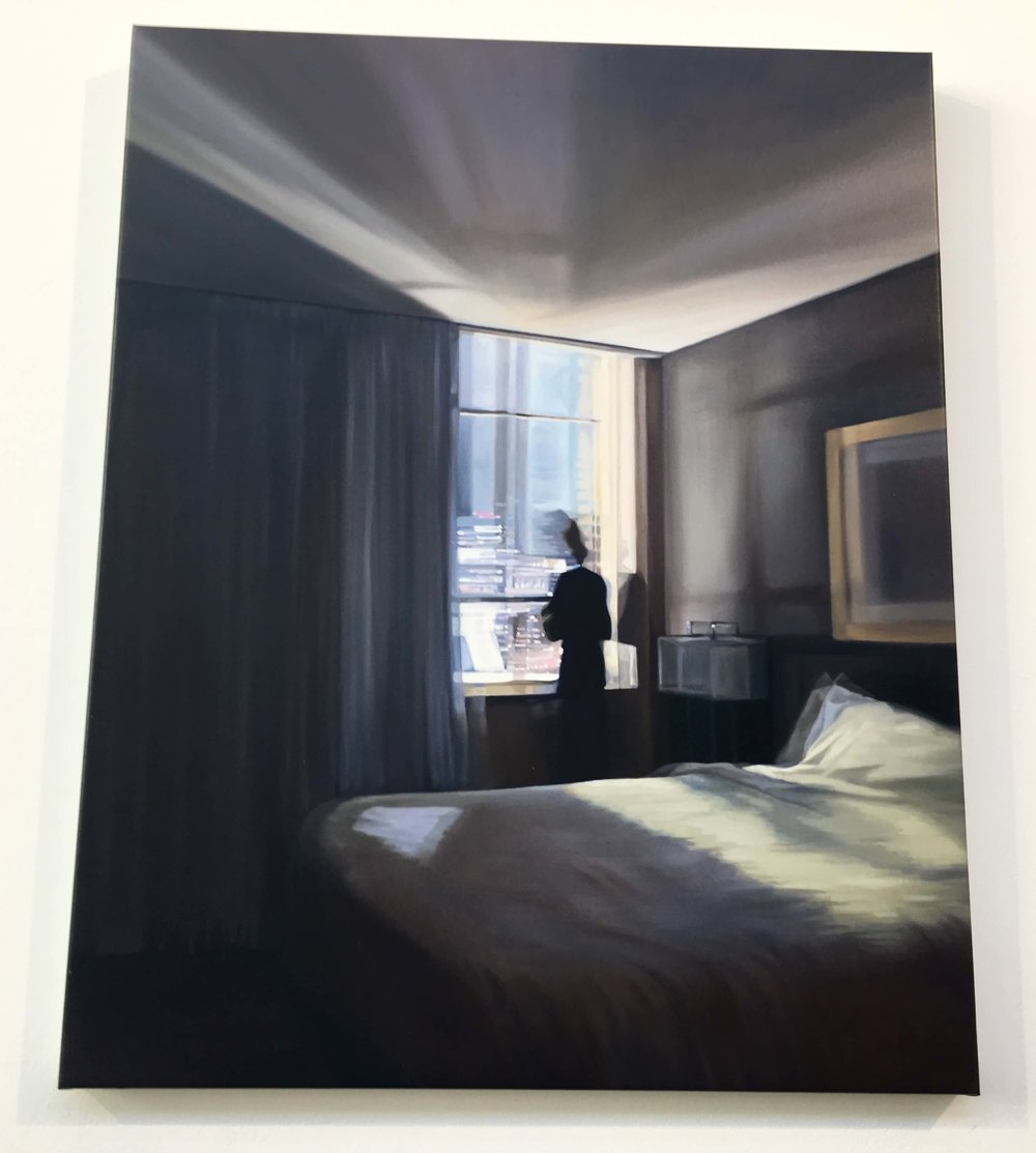 Katarina Strak, Ohne Titel 4, Öl auf Leinwand, Foto: U. Latzke