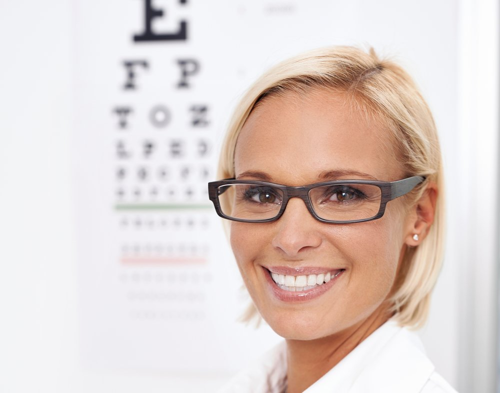 optometrist eye exam