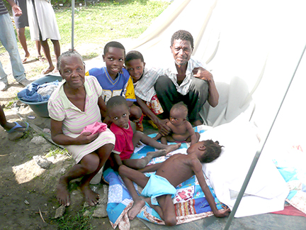 Haiti quilt Neah Bay P1040742