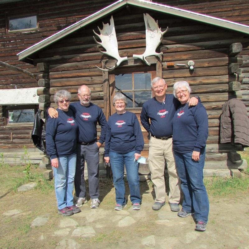Tanana, Alaska Volunteer Team Wolffs and Mellands