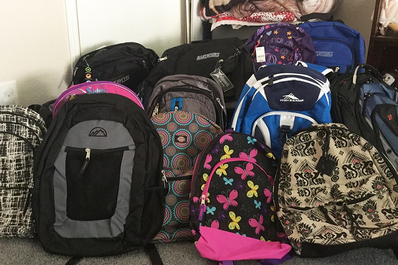 Olympic Peninsula Hope House Backpack Drive