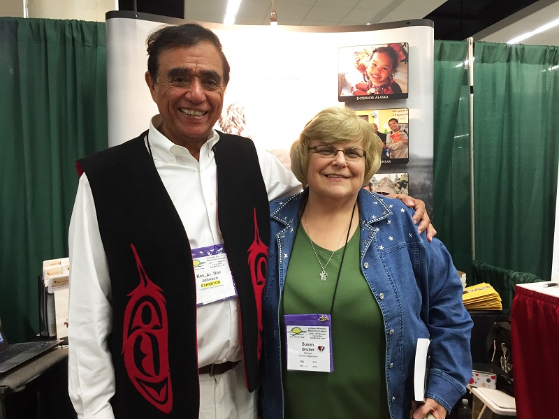2015 LWML Convention - Don Johnson with Susan