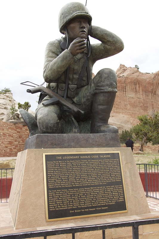 The Legendary Navajo Code Talkers