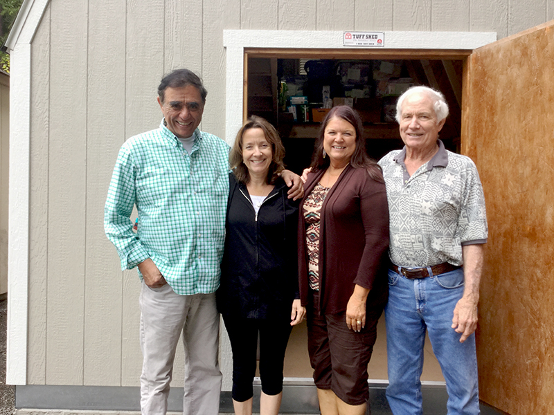 Lutheran Indian Ministries' Hope House Rev Don Johnson and Wife Mary with Cathy and Tom Benzler