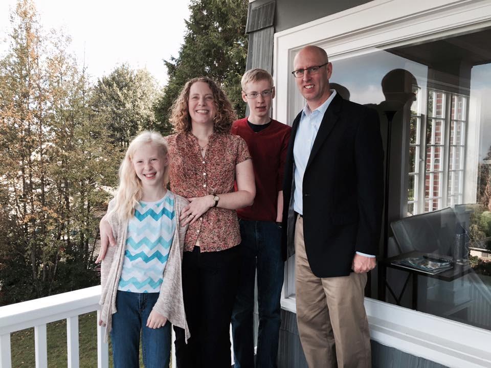 Tim & Heidi Norton with Leslie & Philip