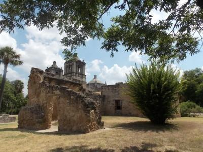 Mission Concepcion - one of five churches of the San Antonio Missions -  Photo by: Tracy Barnett/For The Washington Post