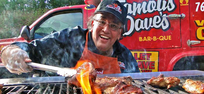 Dave Anderson of Famous Dave's (photo courtesy of  Famous Dave's )